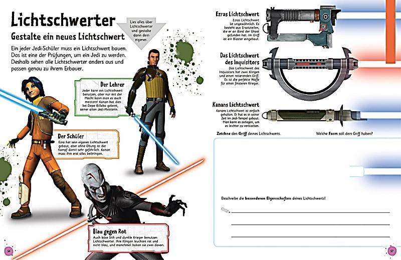 Das Mach-Malbuch - Star Wars Rebels Buch bestellen - Weltbild.ch