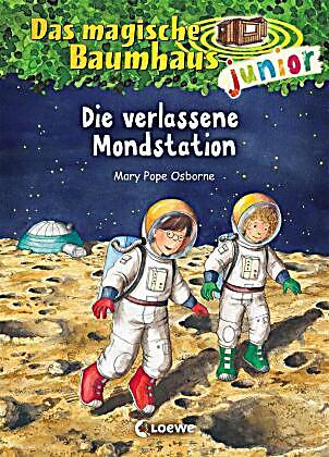 Das magische Baumhaus junior - Die verlassene Mondstation Buch