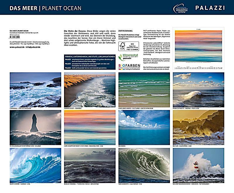Das Meer Planet Ocean 2019 - Kalender bei Weltbild.ch bestellen