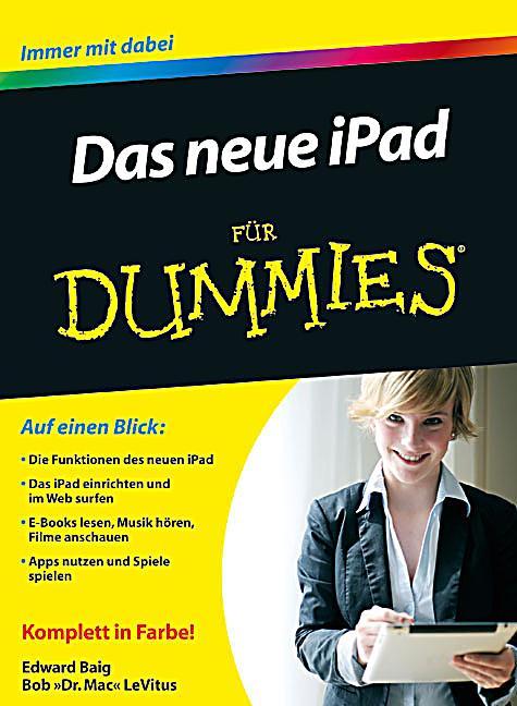 das neue ipad f252r dummies buch portofrei bei weltbildch