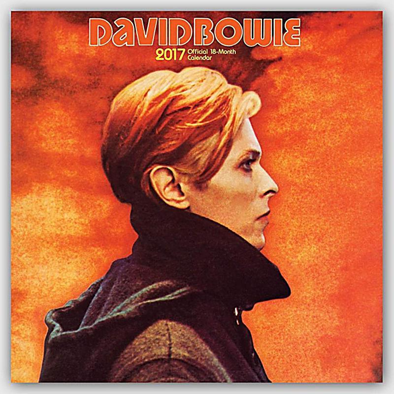 David Bowie 2017 - Kalender günstig bei Weltbild.de bestellen
