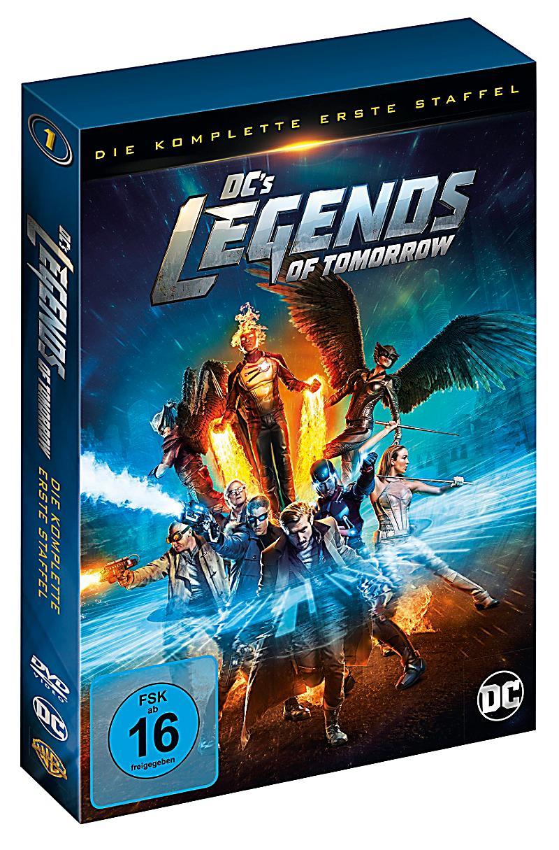 dc legends of tomorrow staffel 2