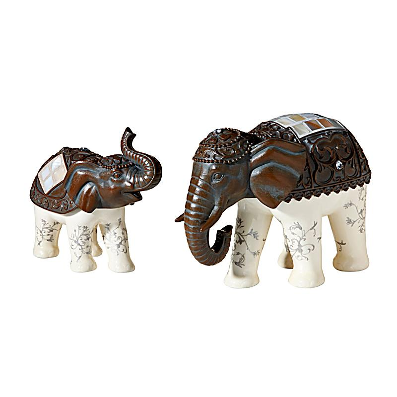 Deko elefanten asia 2er set jetzt bei bestellen for Deko bestellen