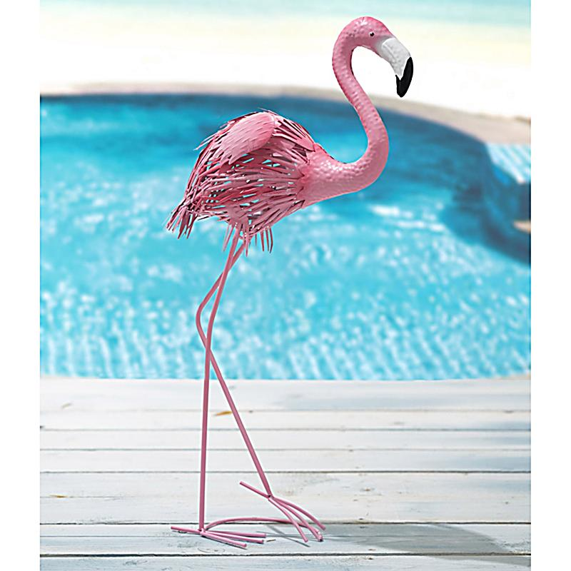 deko figur flamingo pink jetzt bei bestellen. Black Bedroom Furniture Sets. Home Design Ideas