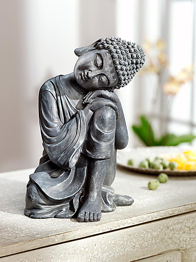 deko figur sleeping buddha jetzt bei bestellen. Black Bedroom Furniture Sets. Home Design Ideas