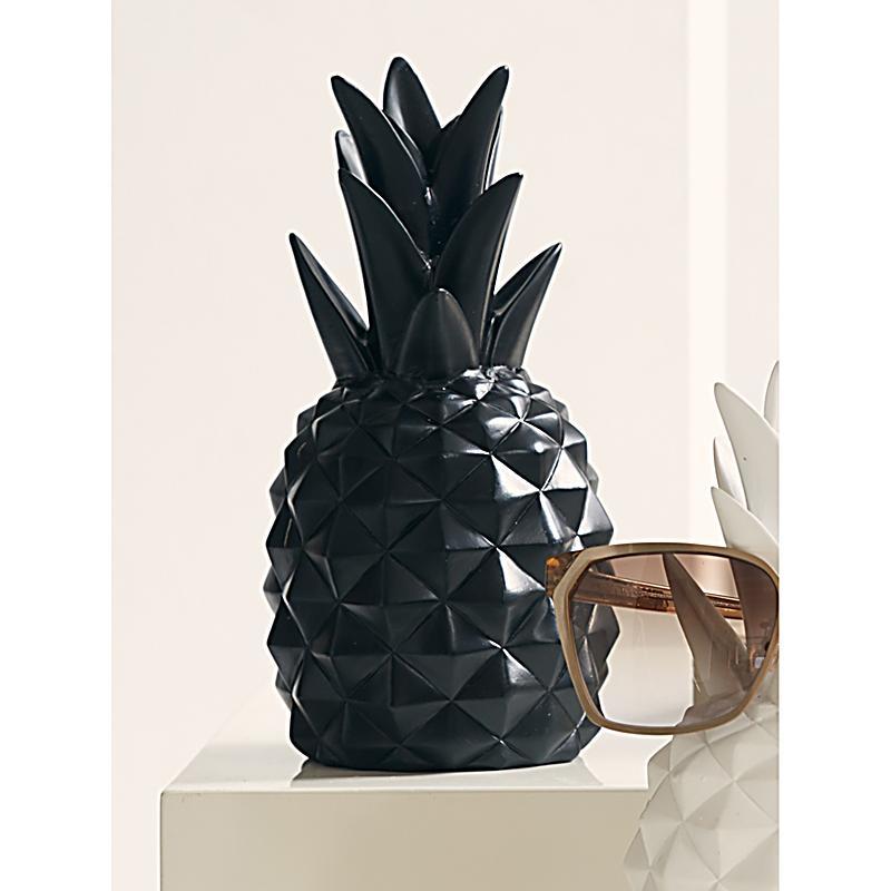 Deko objekt ananas schwarz jetzt bei bestellen - Deko tablett schwarz ...