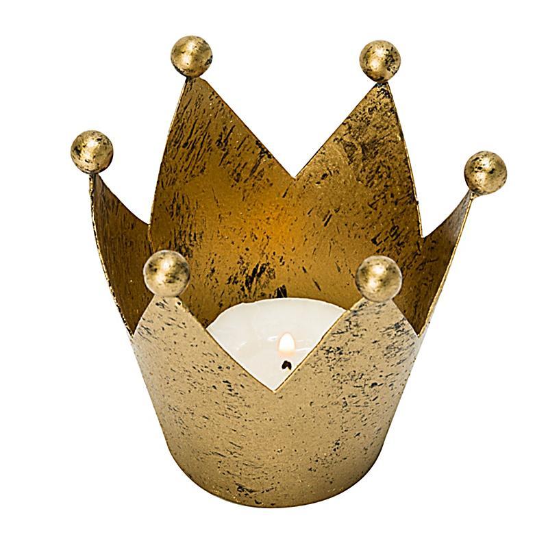 Deko objekt krone goldfarben jetzt bei bestellen for Deko bestellen
