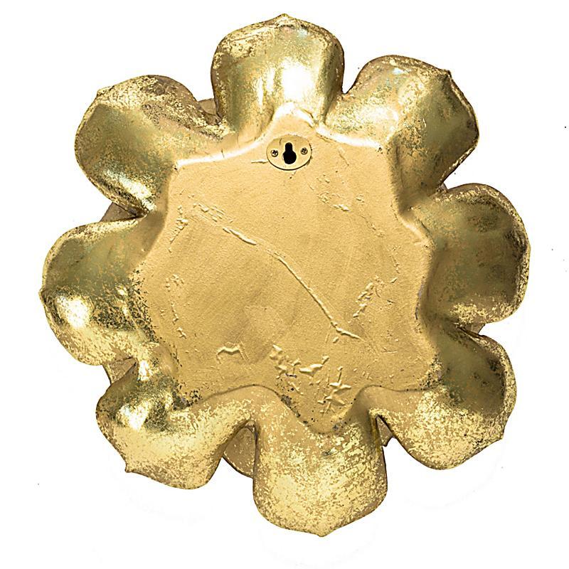 Deko objekt wallflower goldfarben jetzt bei for Deko bestellen