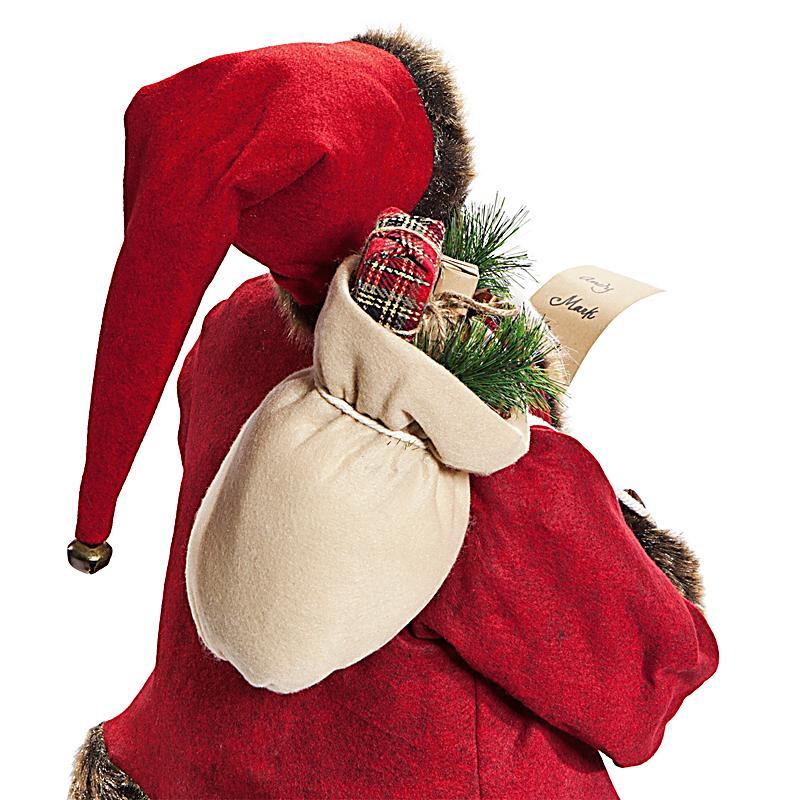 deko weihnachtsmann 120 cm