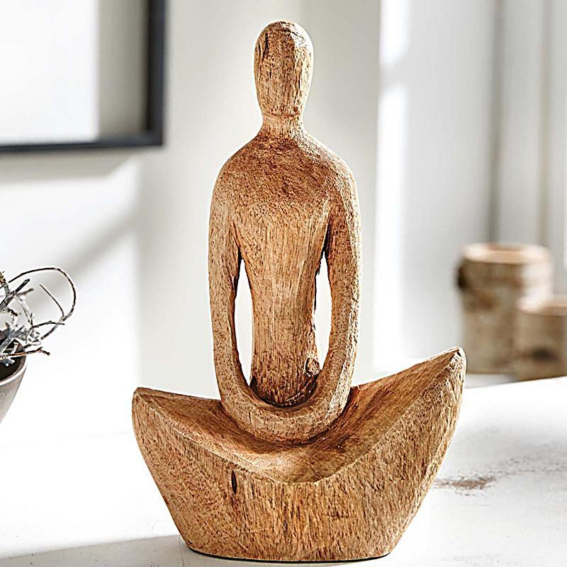 dekofigur yoga lady jetzt bei bestellen. Black Bedroom Furniture Sets. Home Design Ideas
