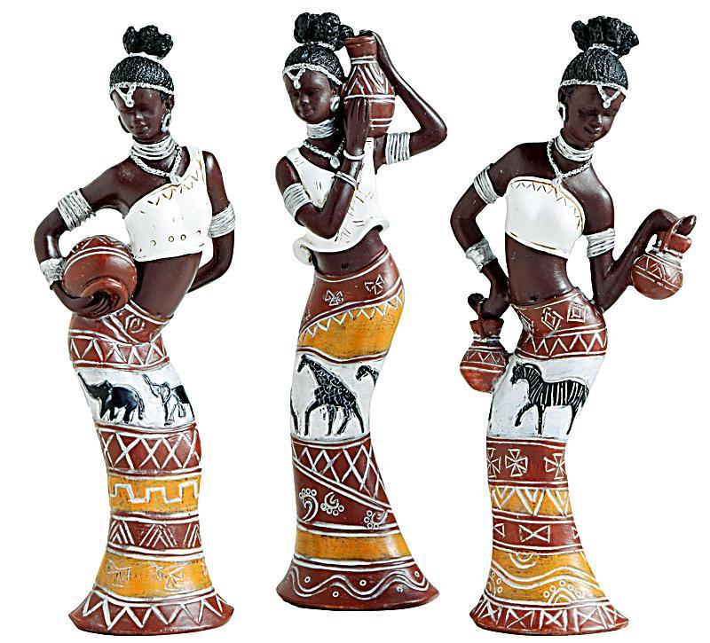 Deko Figuren kommentare zu dekofiguren afrika 3er set weltbild de