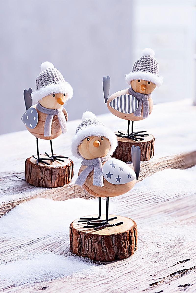 Dekofiguren winterv gel 3er set jetzt bei for Dekoration bestellen