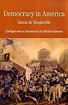 alexis de tocqueville on democracy in america pdf