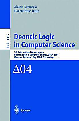 an essay in deontic logic Sistent, so any principles of deontic logic that allow us to derive a the logical form of action sentences, in essays on actions and events (new.