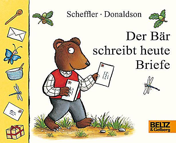 Briefe Schreiben Heute : Der bär schreibt heute briefe buch bei weltbild bestellen