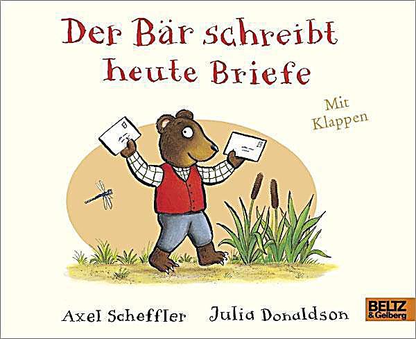 Briefe Schreiben Heute : Der bär schreibt heute briefe buch bei weltbild at bestellen