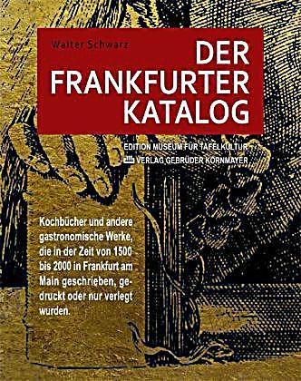 Der Frankfurter Katalog Buch Bei Online Bestellen