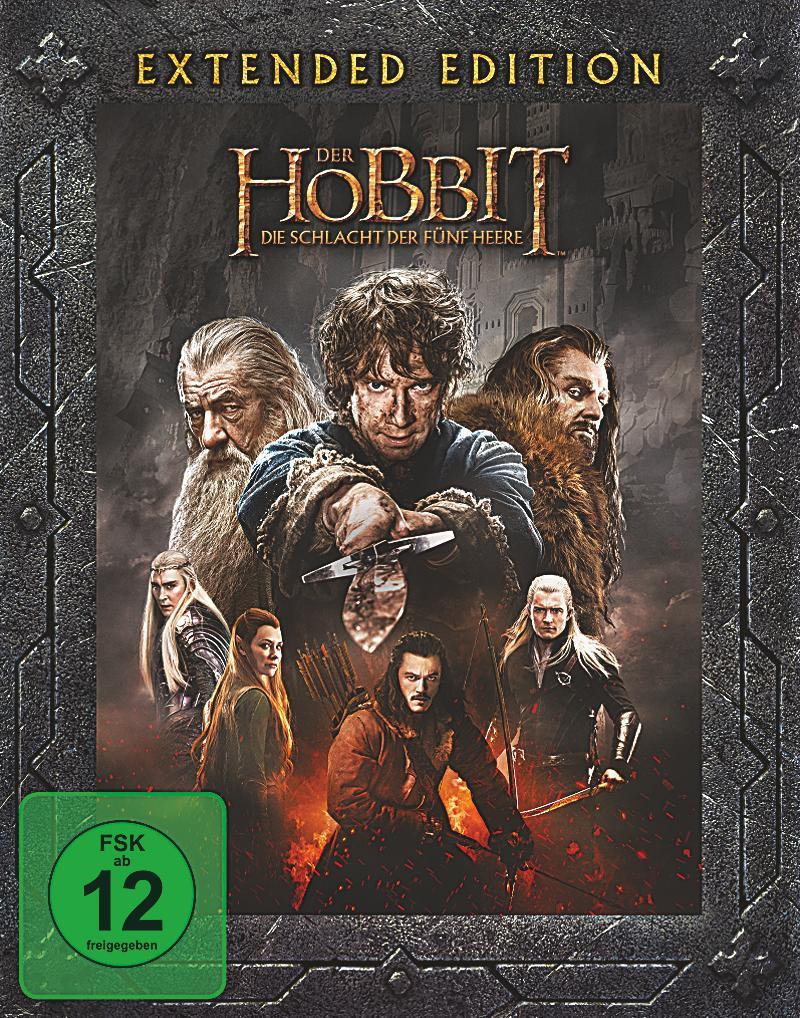 Der Hobbit Die Schlacht Der Fünf Heere Extended Edition Release