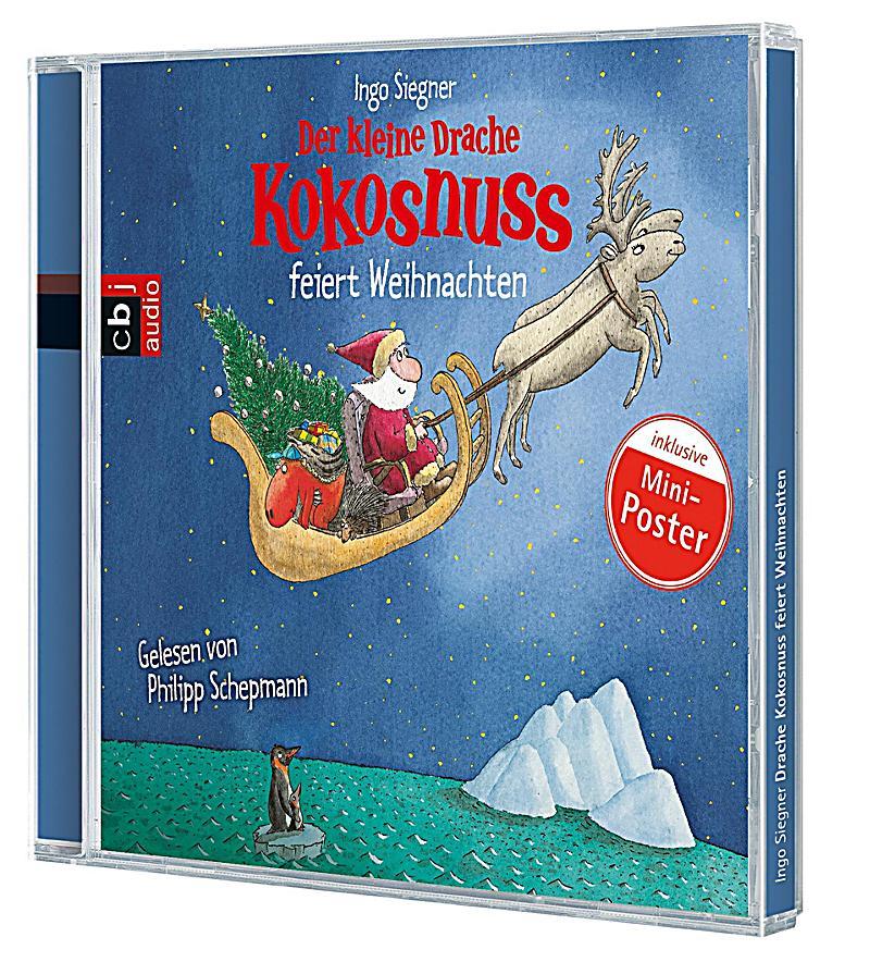 der kleine drache kokosnuss feiert weihnachten 1 audio cd. Black Bedroom Furniture Sets. Home Design Ideas