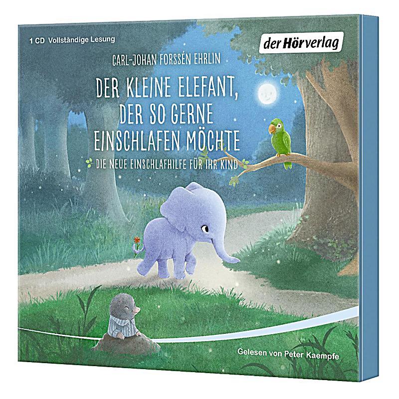 der kleine elefant der so gerne einschlafen m chte 1 audio cd h rbuch. Black Bedroom Furniture Sets. Home Design Ideas
