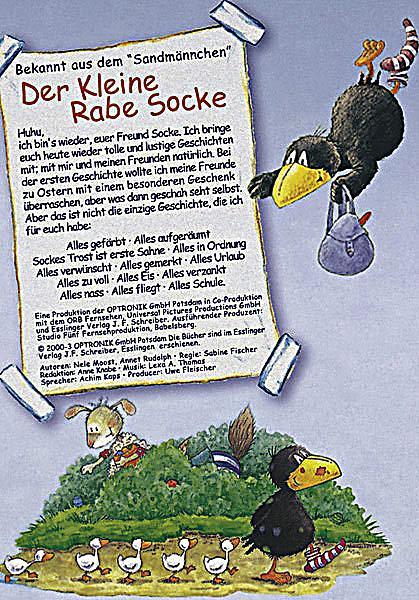 Der Kleine Rabe Socke Alles Gefärbt Dvd Weltbild At