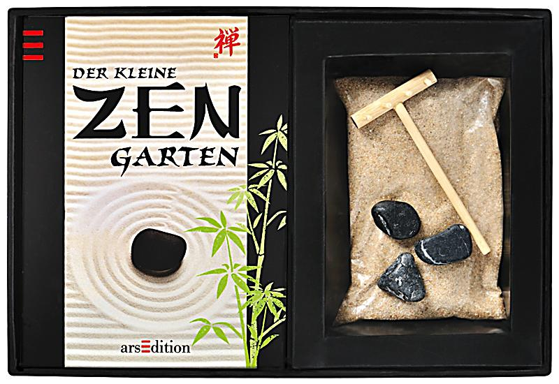 der kleine zen garten geschenkbox buch bei bestellen. Black Bedroom Furniture Sets. Home Design Ideas