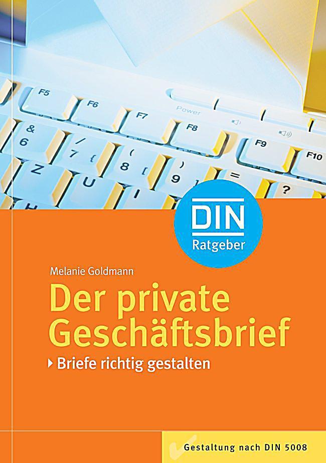 Der Private Geschäftsbrief Buch Portofrei Bei Weltbildde