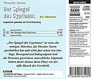 Der spiegel des cyprianus 1 audio cd h rbuch g nstig for Der spiegel bestellen
