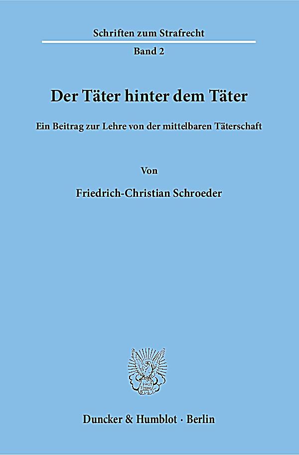 Der Täter hinter dem Täter Buch portofrei bei Weltbild.ch