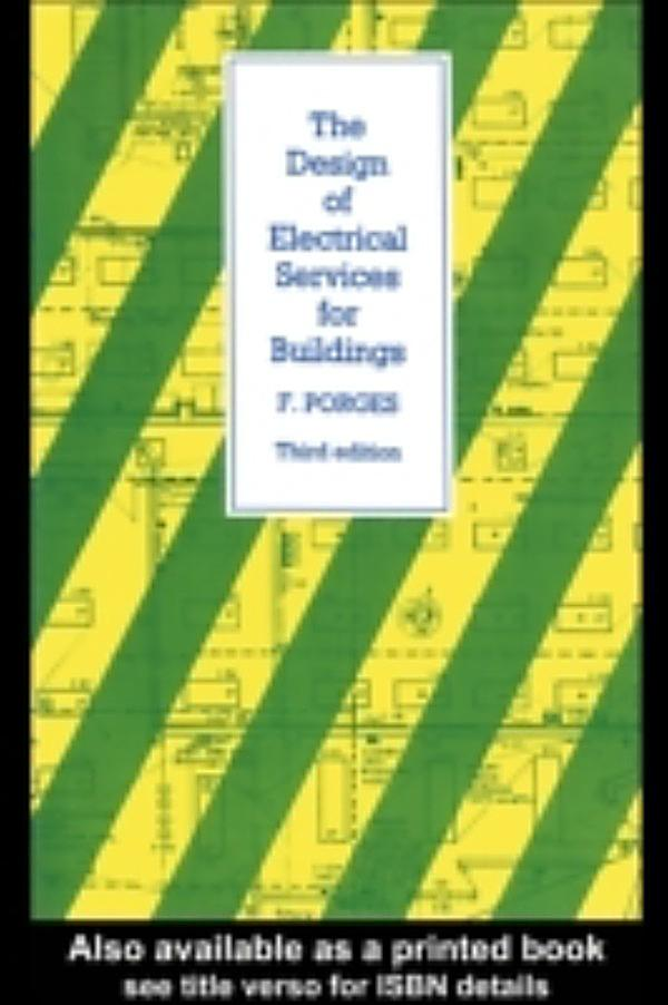 Design Of Electrical Services For Buildings Book