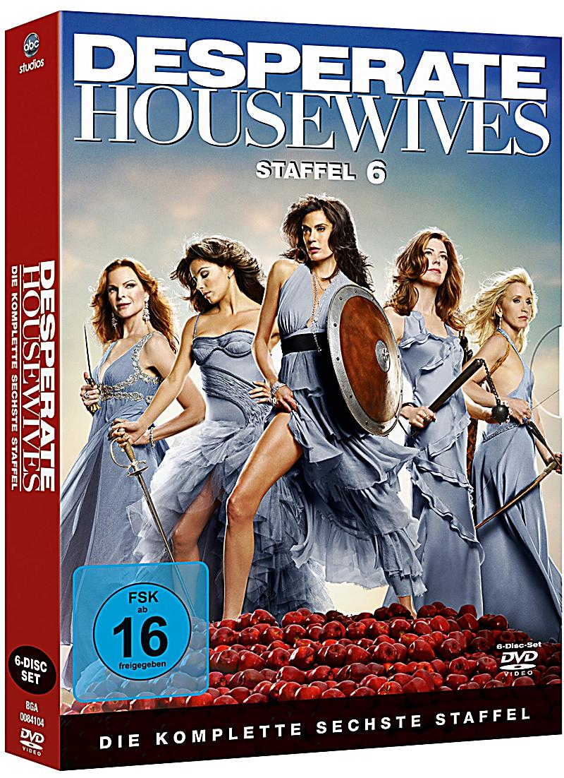 desperate housewives die komplette staffel 6 dvd. Black Bedroom Furniture Sets. Home Design Ideas