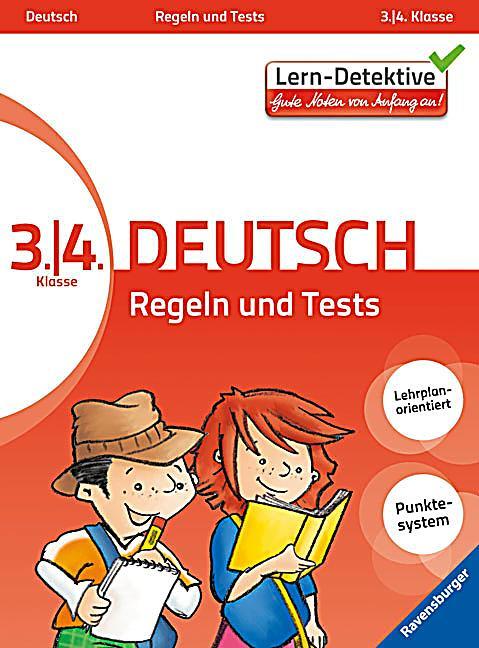 deutsch 3 4 klasse regeln und tests buch weltbildat
