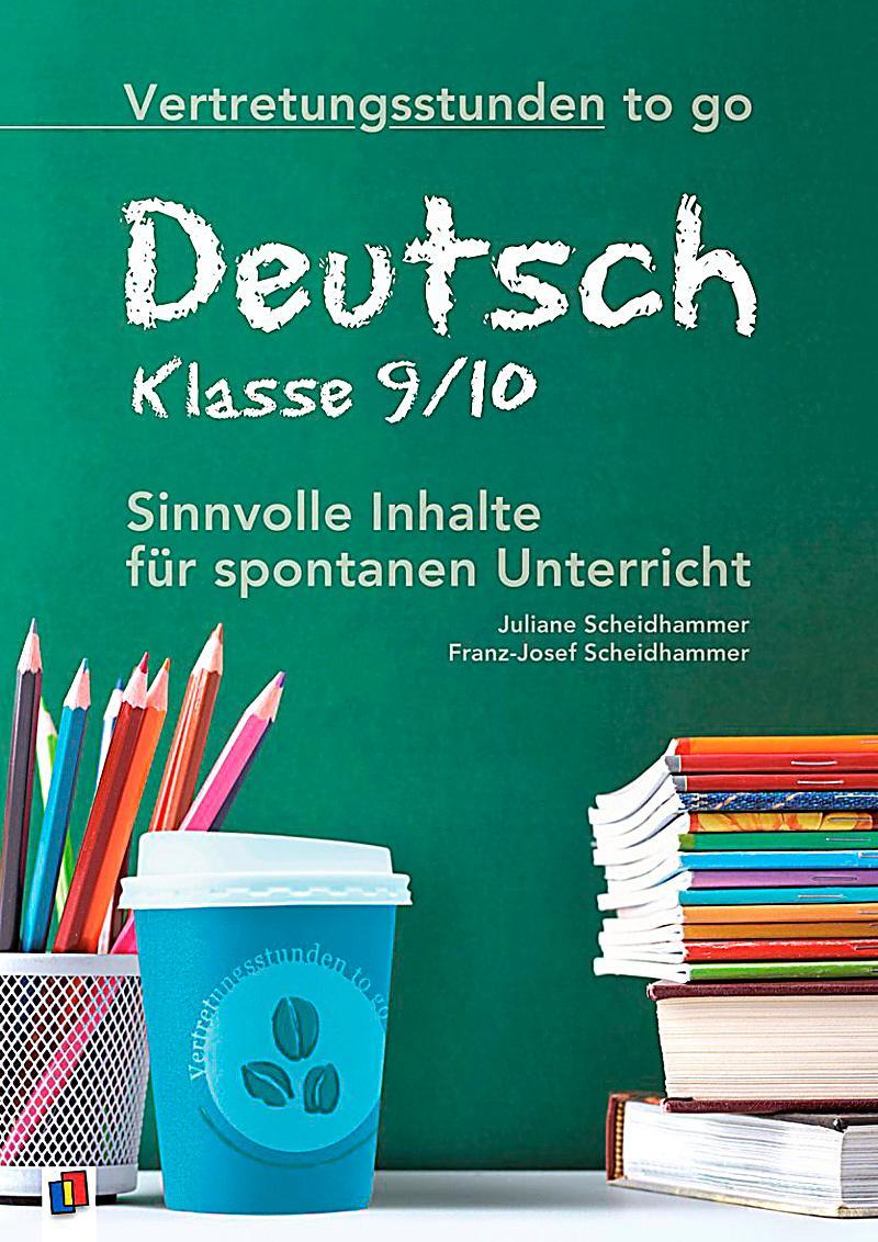 deutsch klasse 9 10 buch portofrei bei weltbildch bestellen