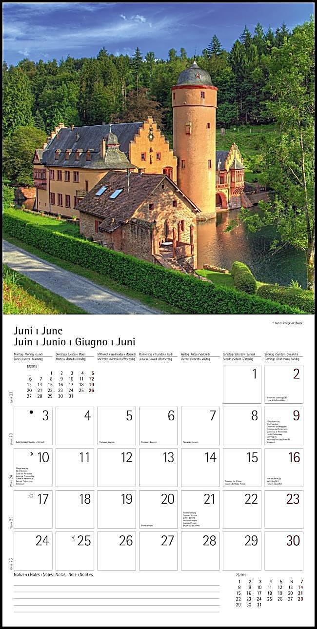 deutschland germany 2019 kalender bei bestellen. Black Bedroom Furniture Sets. Home Design Ideas