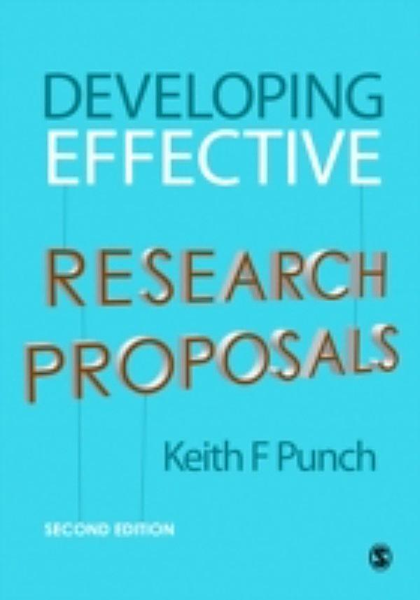 developing effective research proposals An effective introduction discusses the meaningfulness of the study along while it  presents the problem or issue because it advocates for the need for your.