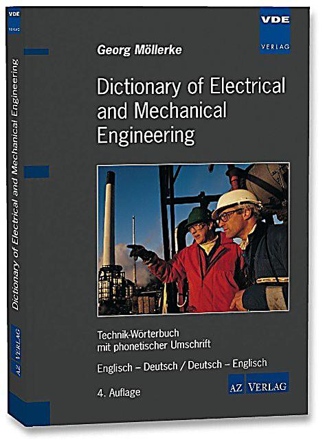 Dictionary of electrical and mechanical engineering for Dictionary englisch deutsch