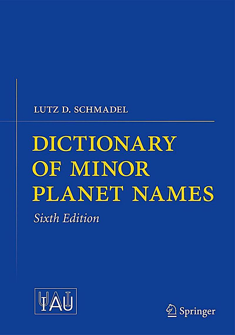 dictionary of minor planet names buch portofrei bei. Black Bedroom Furniture Sets. Home Design Ideas