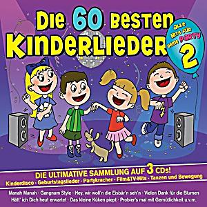 die 60 besten kinderlieder f r deine party cd. Black Bedroom Furniture Sets. Home Design Ideas