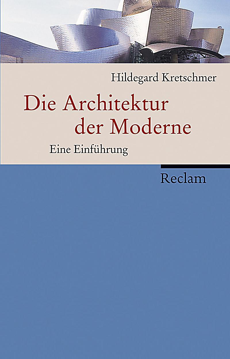 Die Architektur der Moderne Buch portofrei bei Weltbild.ch