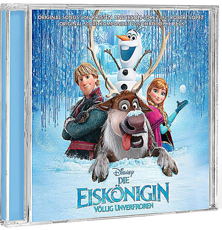 die eisk nigin v llig unverfroren frozen original soundtrack. Black Bedroom Furniture Sets. Home Design Ideas