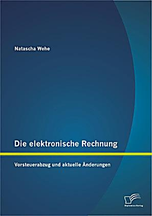 die elektronische rechnung buch portofrei bei. Black Bedroom Furniture Sets. Home Design Ideas
