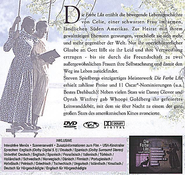 Die Farbe Lila DVD jetzt bei Weltbild.de online bestellen