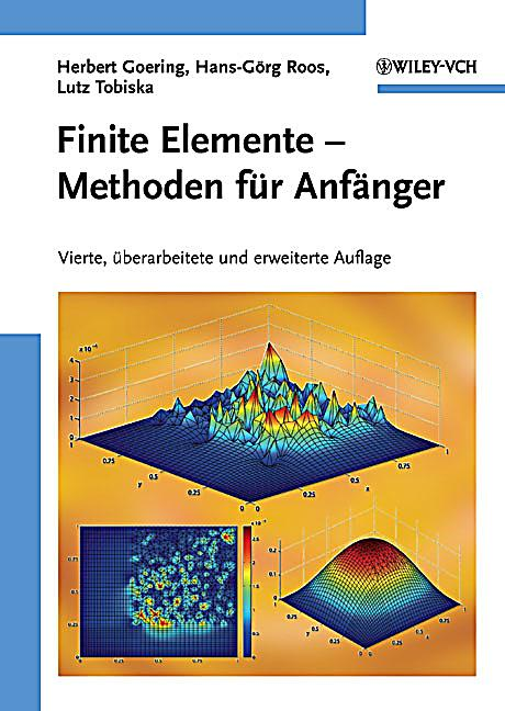 Die finite elemente methode f r anf nger buch portofrei for Finite elemente in der baustatik