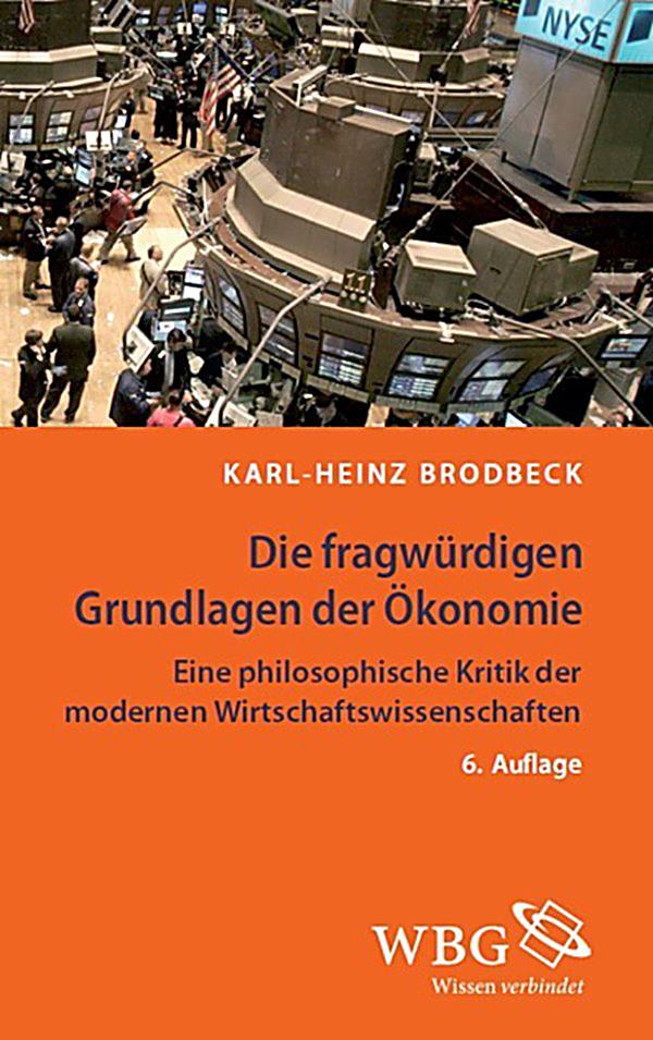 Die fragw rdigen grundlagen der konomie ebook for Grundlagen der tragwerklehre 1