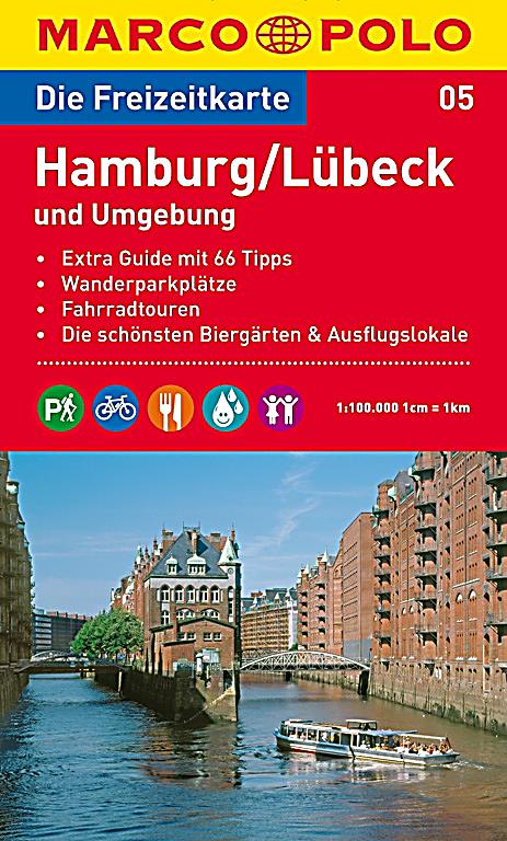 die freizeitkarte hamburg l beck und umgebung buch. Black Bedroom Furniture Sets. Home Design Ideas