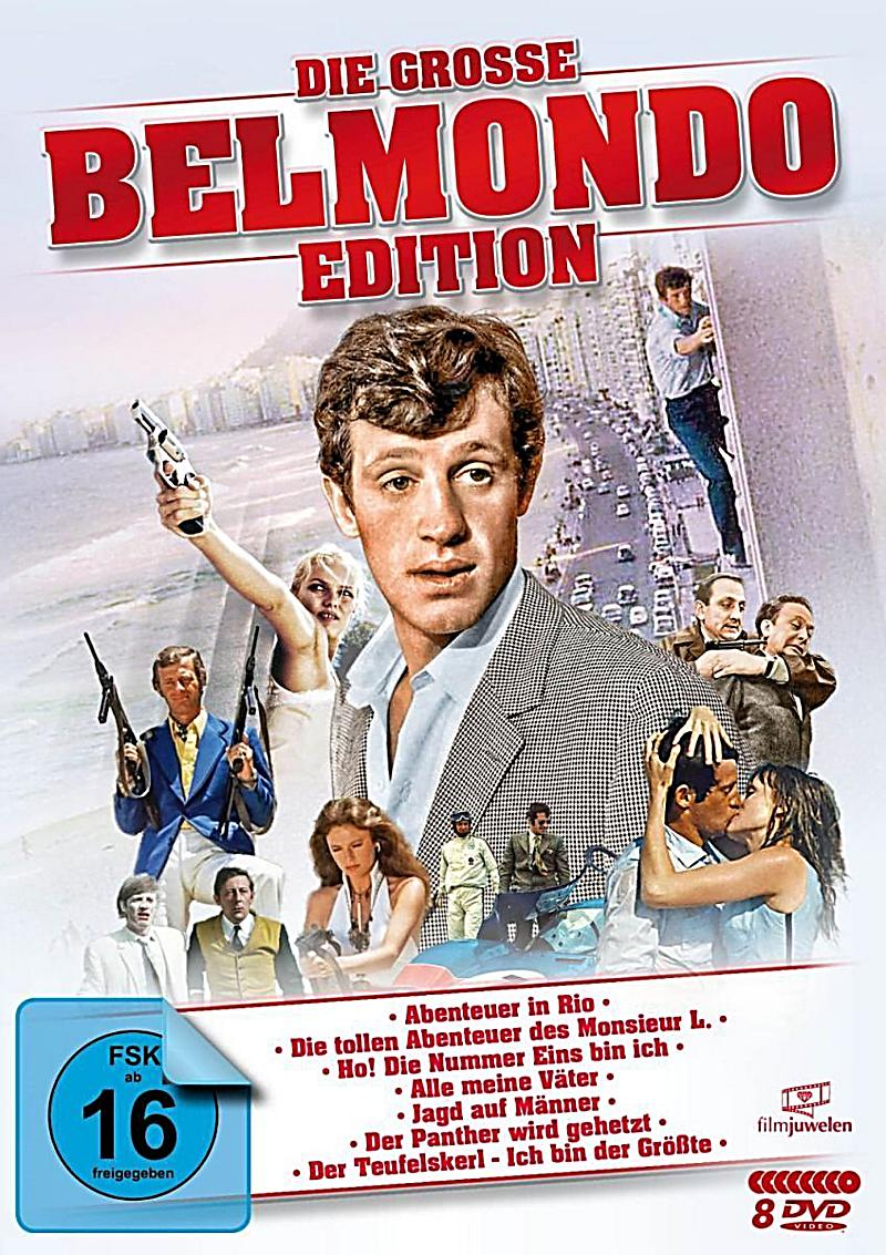 die grosse belmondo edition dvd bei bestellen. Black Bedroom Furniture Sets. Home Design Ideas