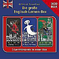 die gro e englisch lernen box 3 cd h rspielbox 3 audio cds h rbuch. Black Bedroom Furniture Sets. Home Design Ideas