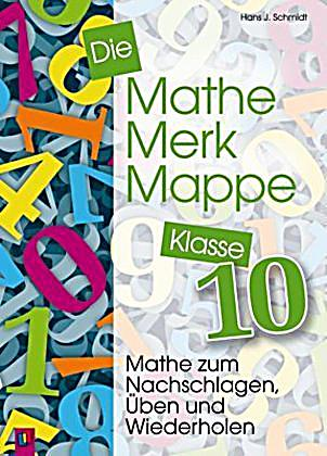 die mathe merk mappe klasse 10 buch portofrei bei. Black Bedroom Furniture Sets. Home Design Ideas