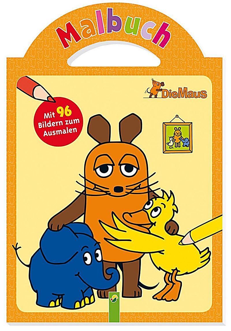 Die Maus - Malbuch mit Tragegriff Buch bei Weltbild.de bestellen