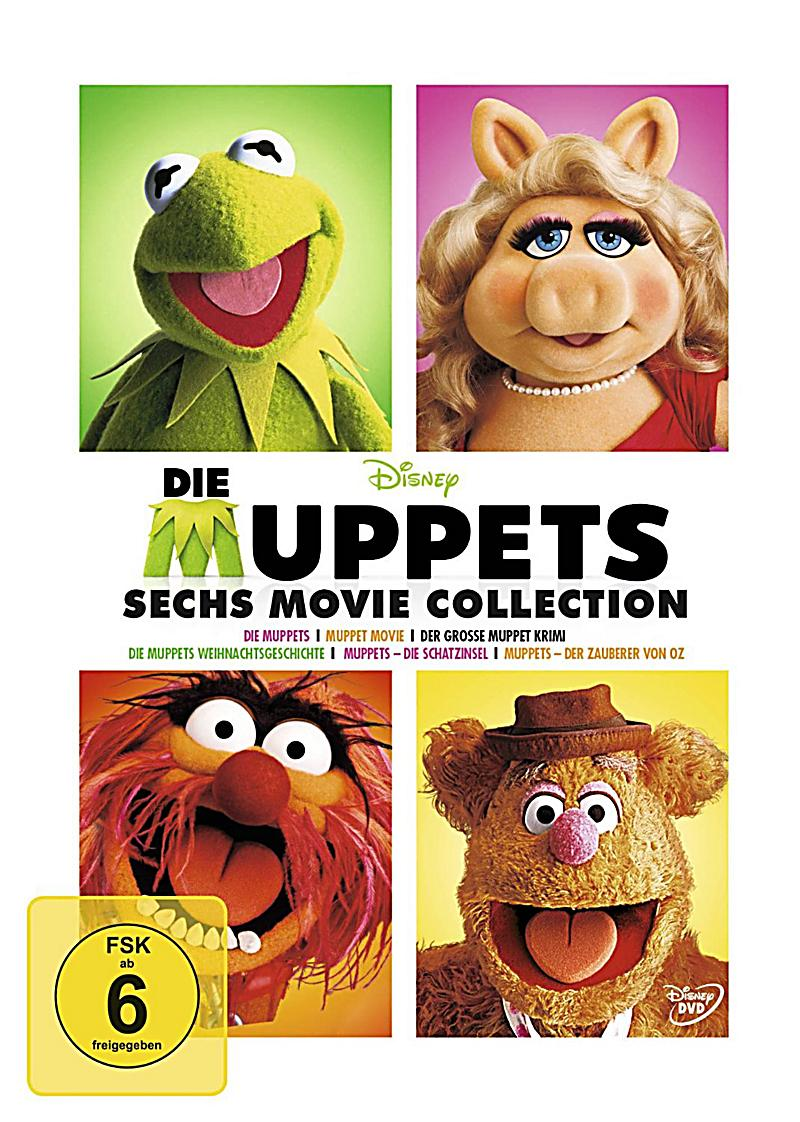 die muppets 6 movie collection dvd bei bestellen. Black Bedroom Furniture Sets. Home Design Ideas